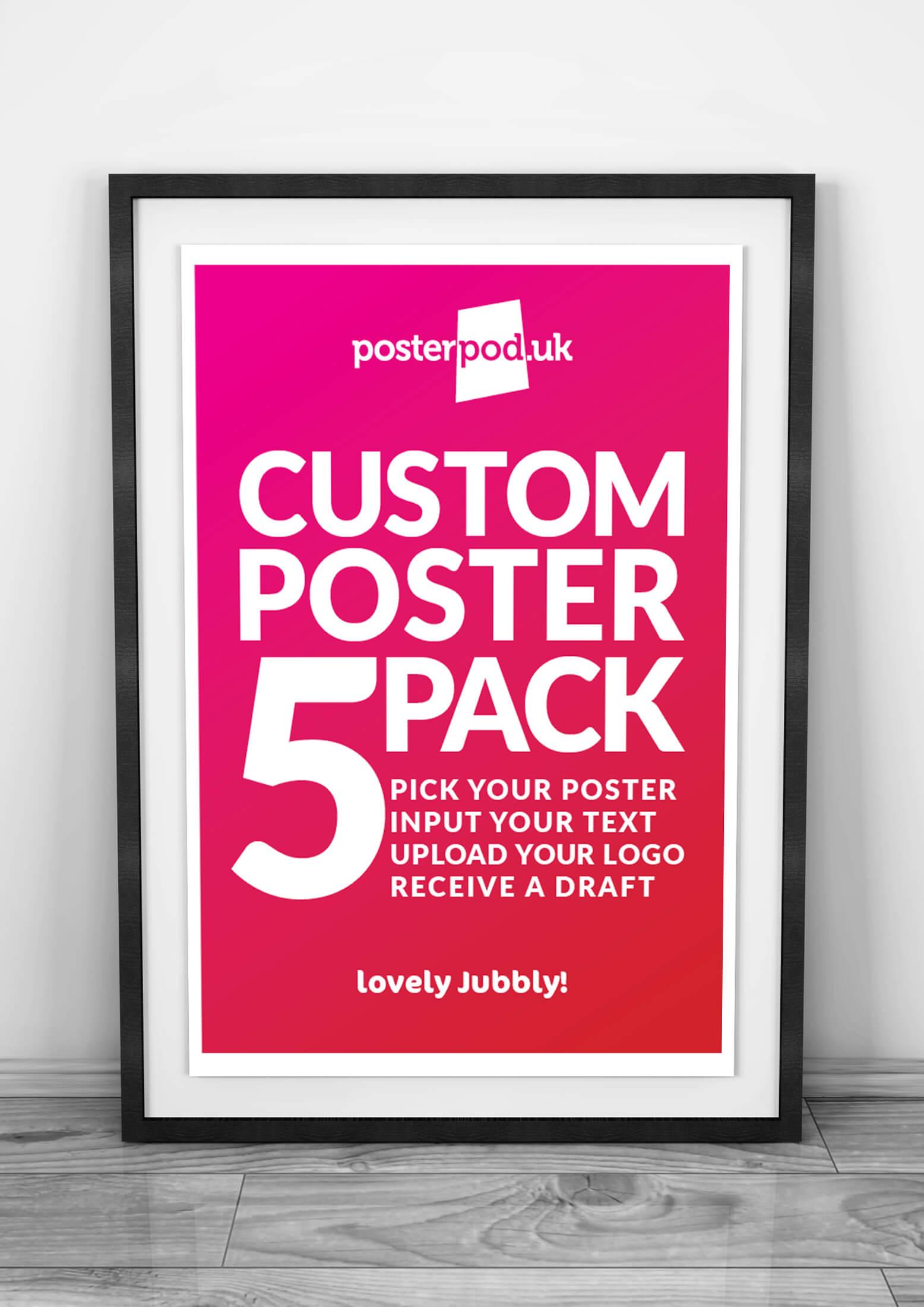 Poster Custom Packs
